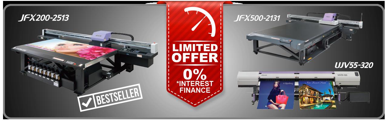 Zero Interest Finance - LED UV Technology - Limited Offer
